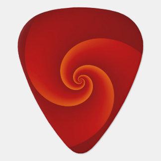 Abstract Background Spirals soft III Guitar Pick