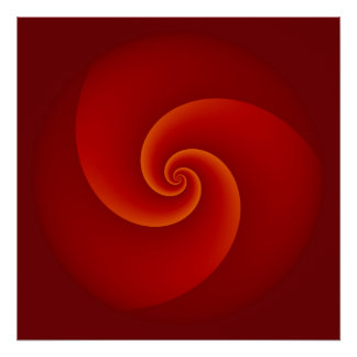 Abstract Background Spirals soft III Poster