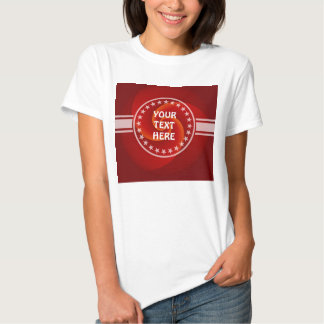 Abstract Background Spirals soft III + your text T-Shirt