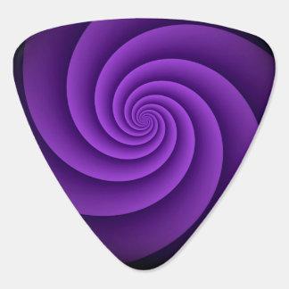 Abstract Background Spirals soft IV Guitar Pick