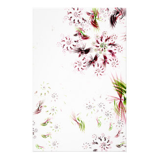 abstract background stationery