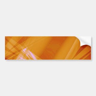 Abstract-Background sunshine ORANGE DIGITAL RANDOM Bumper Sticker