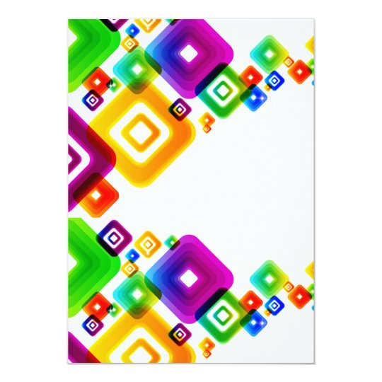 Abstract Background Vector Graphic5 COLORFUL SQUAR Card