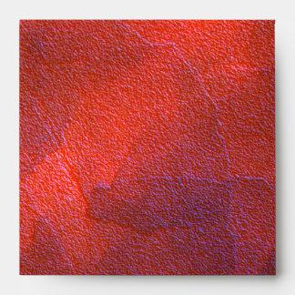 Abstract Background Vivid Orange and Cobalt Blue Envelope