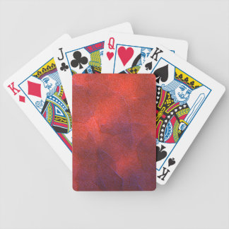 Abstract Background Vivid Orange and Cobalt Blue Bicycle Poker Cards