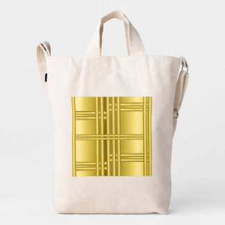 Abstract background with gold bars duck bag
