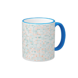 Abstract background with mixed small spots ringer mug