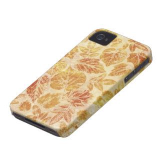 Abstract backgrounds, watercolor, leaves iPhone 4 cover