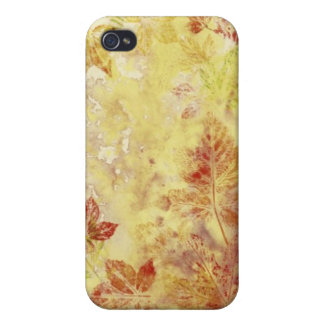 Abstract backgrounds, watercolor, leaves iPhone 4 covers