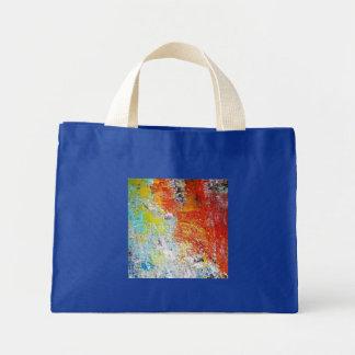 Abstract Mini Tote Bag