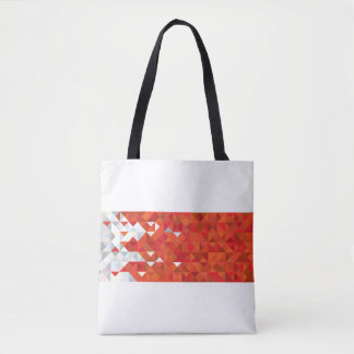 Abstract Bahrain Flag, Bahraini Colors Bag