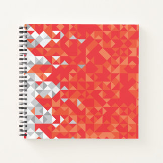 Abstract Bahrain Flag, Bahraini Colors Notebook