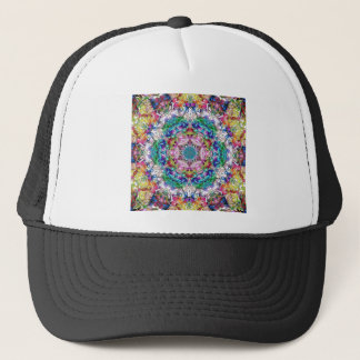 Abstract Balance of Colors Trucker Hat