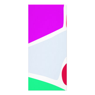 Abstract Balance Rack Card Design