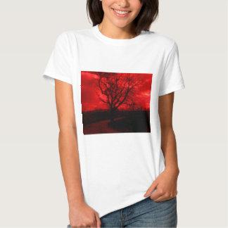 Abstract Bald Tree T-Shirt