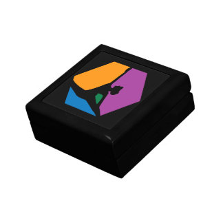 Abstract Ballet Dancer Jewelry Box