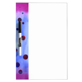 Abstract Balls Art Dry Erase Board