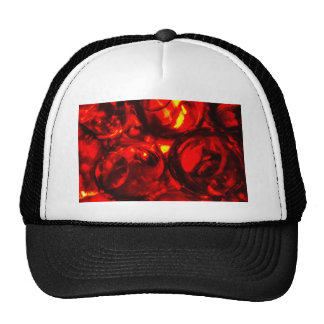 Abstract balls of gel trucker hat