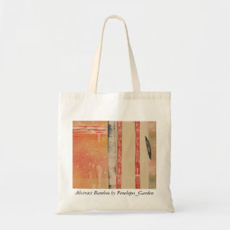 Abstract Bamboo by Penelopes_Garden Tote Bag
