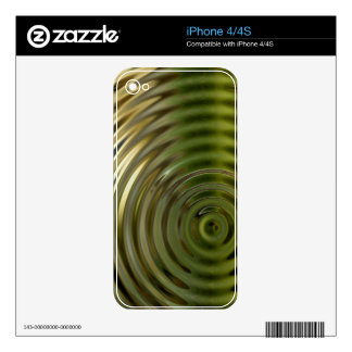 Abstract Bamboo Skin For The iPhone 4S