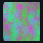 """Abstract Bandana<br><div class=""""desc"""">colorful to match most outfits</div>"""