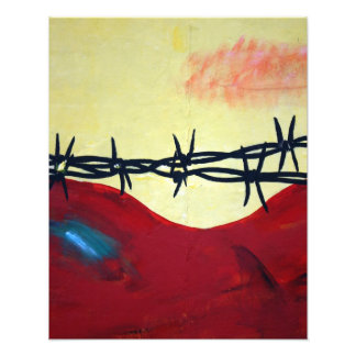 Abstract - barbed wire photo