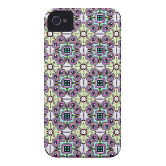 Abstract Bas-relief Kaleidoscope. Vintage Pattern iPhone 4 Cases
