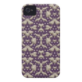 Abstract Bas-relief Sculptures Texture. Stylish iPhone 4 Case-Mate Case