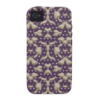 Abstract Bas-relief Sculptures Texture. Stylish iPhone 4 Cover