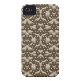 Abstract Bas-relief Sculptures Texture. Stylish iPhone 4 Cases