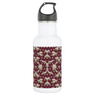 Abstract Bas-relief Sculptures Texture. Stylish 18oz Water Bottle
