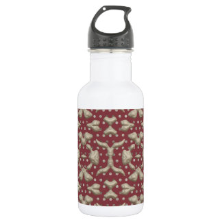 Abstract Bas-relief. Stylish Sculptures Texture 18oz Water Bottle