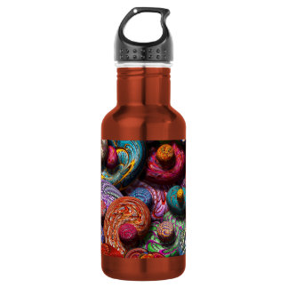 Abstract - Beans 18oz Water Bottle