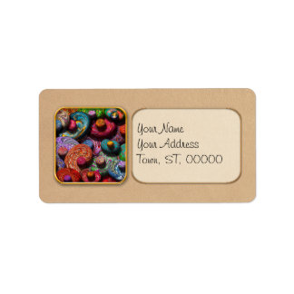 Abstract - Beans Address Label