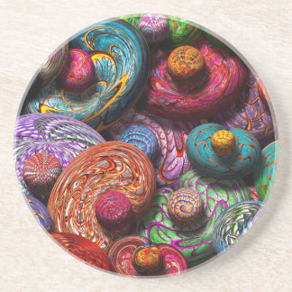 Abstract - Beans Drink Coasters