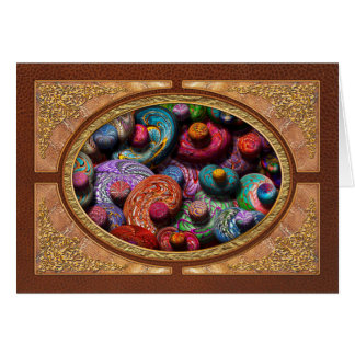 Abstract - Beans Greeting Card