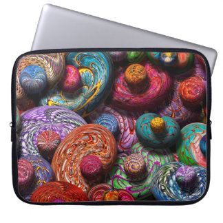 Abstract - Beans Laptop Sleeves