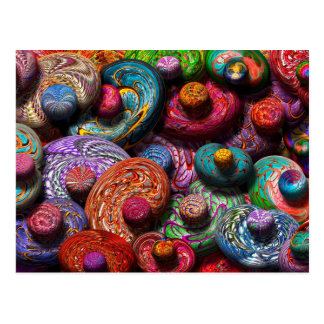 Abstract - Beans Postcard