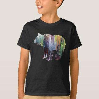 Abstract Bear cub Silhouette T-Shirt