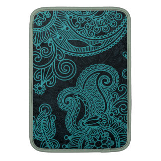 Abstract beautiful Indian floral pattern MacBook Air Sleeve