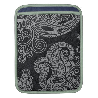Abstract beautiful Indian floral pattern Sleeve For iPads