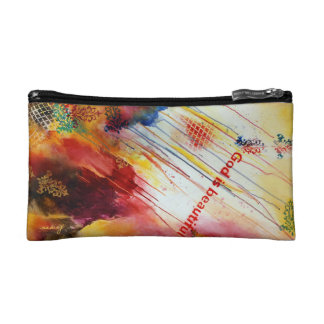 Abstract Beauty Bag Cosmetic Bags