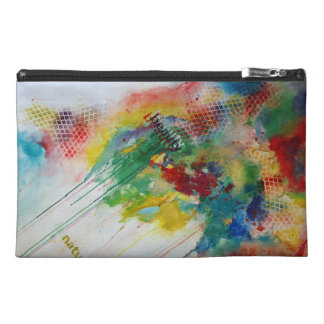 Abstract Beauty Bag Travel Accessory Bags