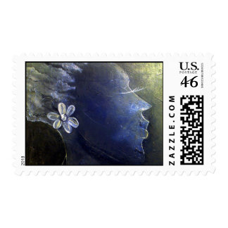 Abstract Beauty - Female Stamp