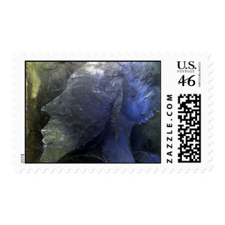 Abstract Beauty - Male Stamp