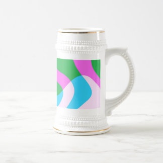 abstract beer stein