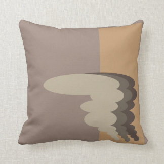 Abstract Belgian Design Throw Pillow
