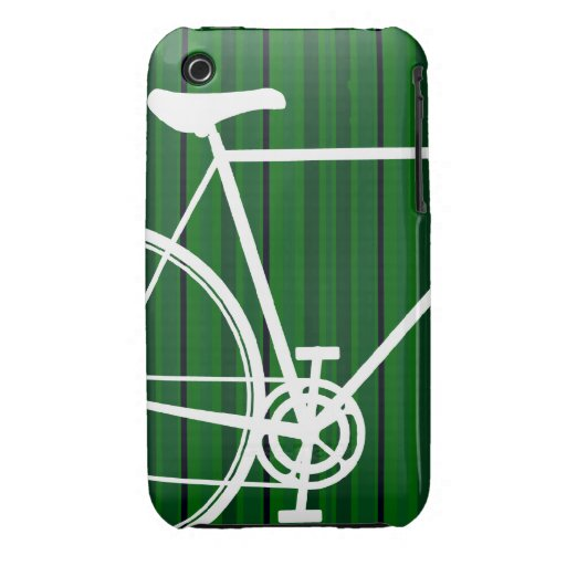 Abstract Bicycle iPhone 3 Case