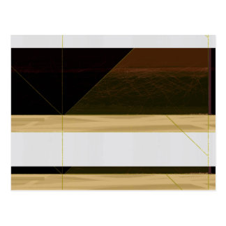 Abstract Biege Postcard