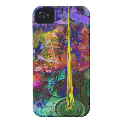 Abstract big bang iPhone 4 casemate by Valxart iPhone 4 Case-Mate Cases